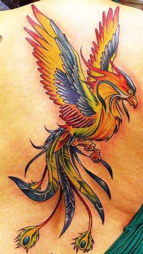 50 amazing phoenix tattoo design pictures