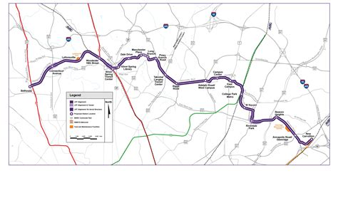 line map a new color to be added to mid atlantic transit the maryland purple line infra insight