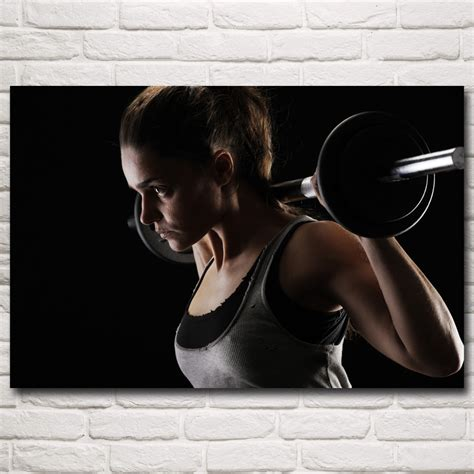 Barbell Besi poster beli murah poster lots from china poster suppliers on aliexpress