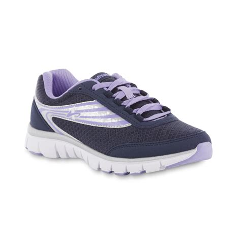 sears womens athletic shoes athletech s gracie athletic shoe blue purple