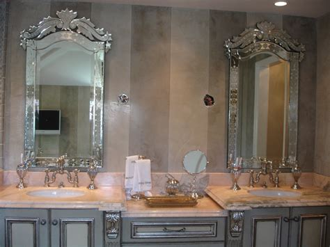 fancy bathroom mirrors decorative bathroom mirrors style doherty house