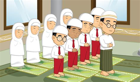 membuat anak rajin sholat sssttt di masjid jangan berisik ya nak kanebo kering
