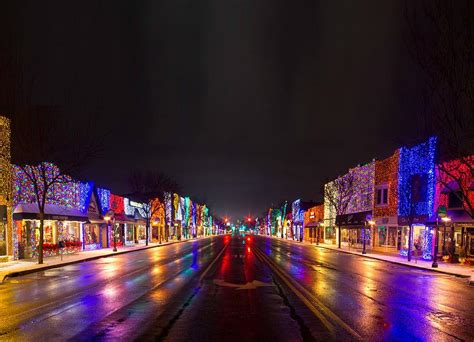 downtown rochester mi at christmas food pinterest