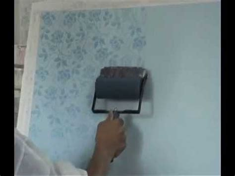pattern paint roller youtube how to use a soft rubber pattern roller to create