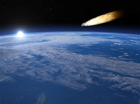 falling comet in the earth s atmosphere background hd facts about meteors squizzes