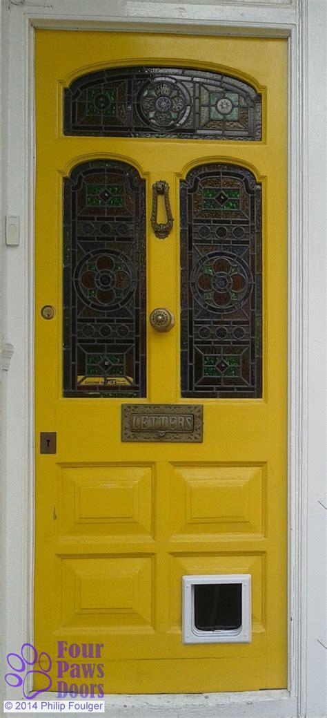 Cat Door For Exterior Door Diy Fitting Of Cat Flaps And Doors Four Paws Doors