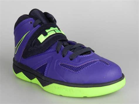 purple boys basketball shoes nike lebron soldier 7 ps new boys purple