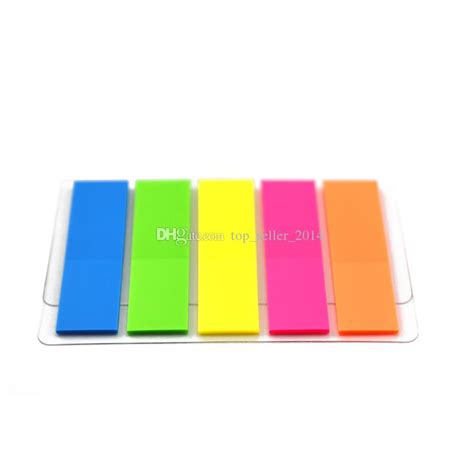 Sticky Memo Page Marker 2016 5 packs 500 pages colorful fluorescent sticker post