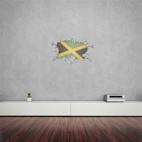 vinyl printing jamaica cracked wall flag of jamaica vinyl wall art vinyl revolution