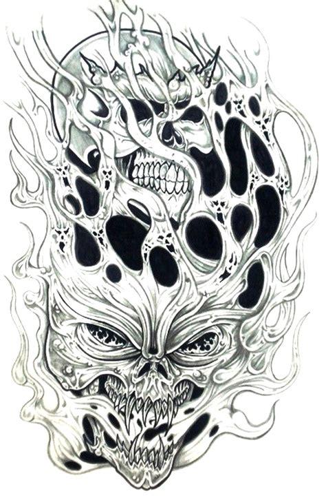 tattoo pictures skulls demons demon skull tattoo design jpg 1000 215 1539 funny memes