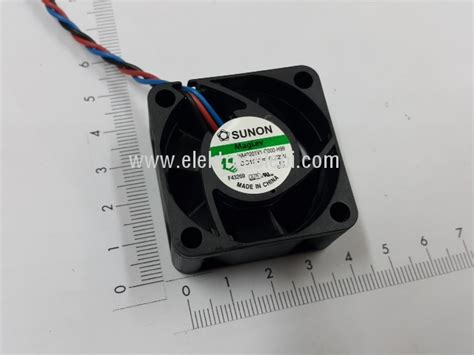 Fan Dc 12 Volt 6 Cm Sunon 199 elebi elektronik