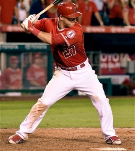 mike trout baseball swing theory of lower body injuries in hitters
