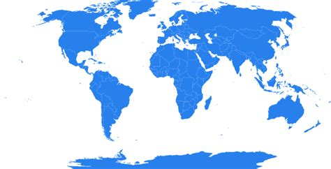 Global Map Clipart global map blue clip at clker vector clip