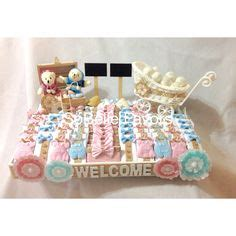 Baby Shower Tray Decoration by Patchi S Fashion Guru Chocolate Arrangement So Stylish