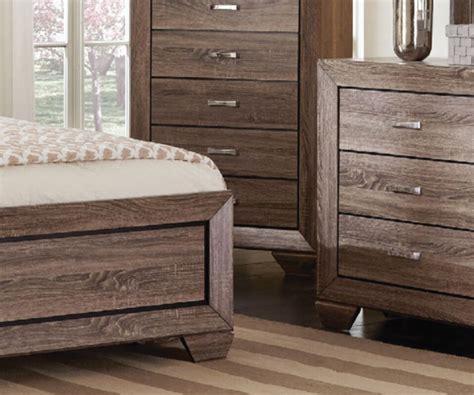 Brown Bedroom Suite kauffman rustic grayish brown 4 pieces bedroom suite