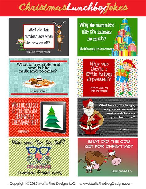 free printable lunchbox jokes christmas christmas lunchbox jokes for kids free printable