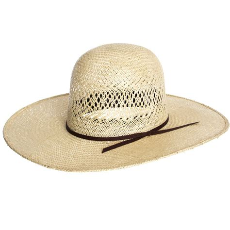Best Kitchen Knives For The Money jute open crown amp chocolate cord rodeo king straw hat