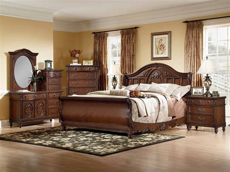 sleigh bedroom set king furniture gt bedroom furniture gt sleigh gt vaughan home