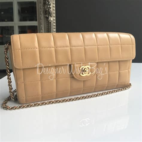 Hiltons Chanel Clutch Purses Designer Handbags And Reviews by Chanel Chocolate Bar Bag Clutch