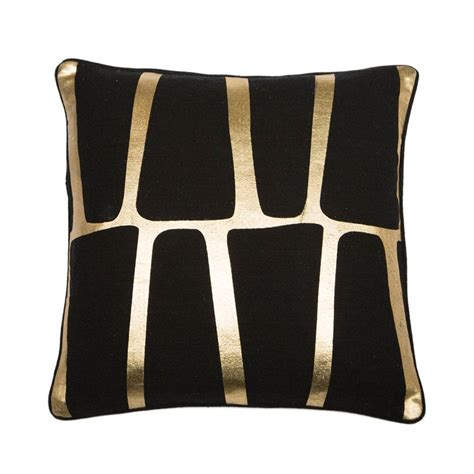 Floor And Decor Outlet black amp gold colonial cushion trendy cushion