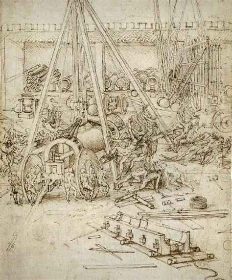 leonardo da vinci biographical notes an artillery park jpg 1487 leonardo da vinci wikiart org