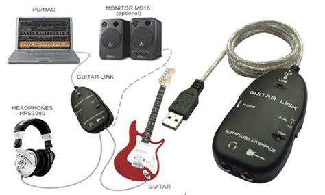 Usb Guitar Link Behringer jual soundcard usb recording guitar link seabrek gratisannya afaninku store
