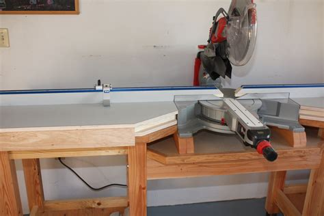 Miter Saw Table By Rkober Lumberjocks Com