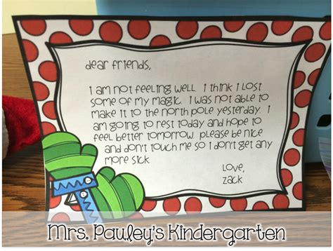 someone touched the mrs pauley s kindergarten