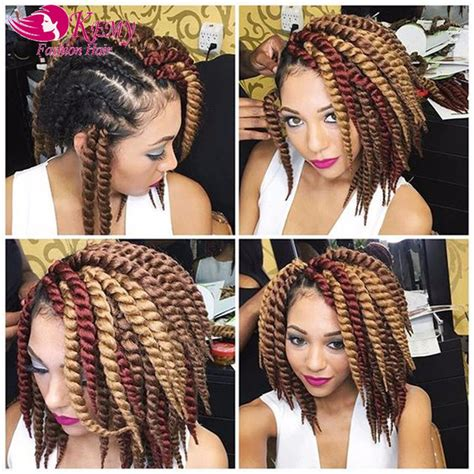 braiding method for ombre wholesale havana mambo twist crochet hair extensions