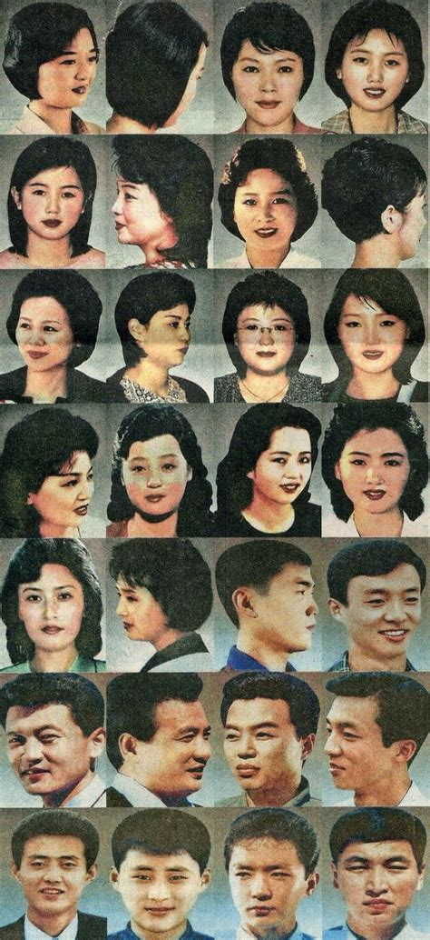 north korea state approved hairstyles people  animals