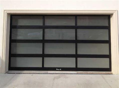 Aluminum And Glass Christie Overhead Door Aluminum Overhead Door