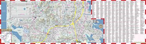 san francisco map high resolution san francisco map south inner city centre points of