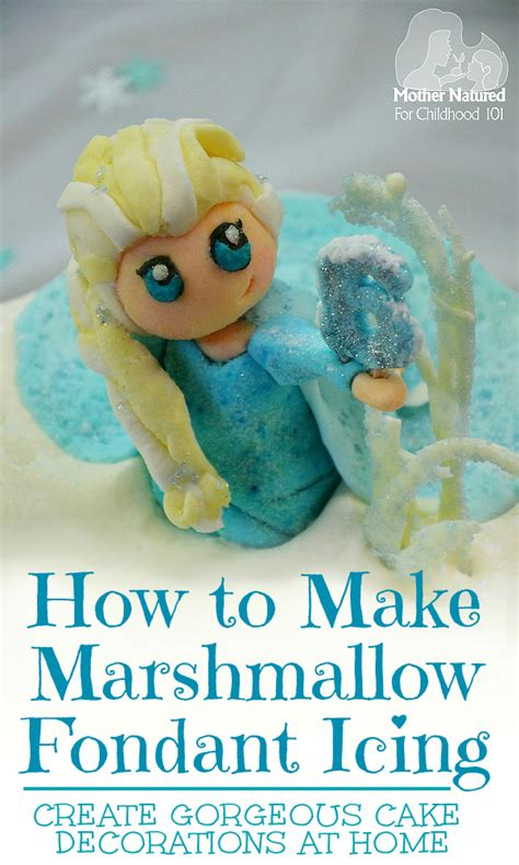 how to make marshmallow fondant childhood101