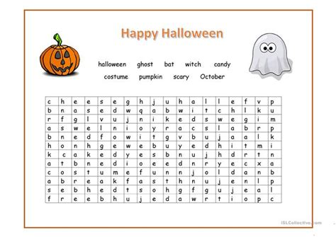 printable word games for elementary students halloween word search printable worksheets printable