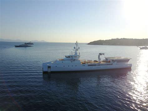 yacht game damen support vessel luxury yacht game changer yacht