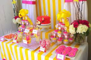 cake adoration advertise dessert and candy tables
