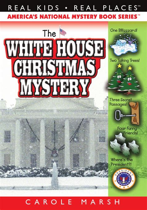 the white house christmas mystery by gallopade
