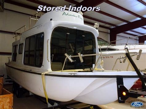 used adventure craft boats adventure craft house boat 2001 for sale for 203 boats