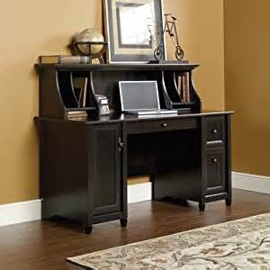 Black Computer Desk With Hutch Estate Black Computer Desk With Hutch By Sauder Home Office Desks