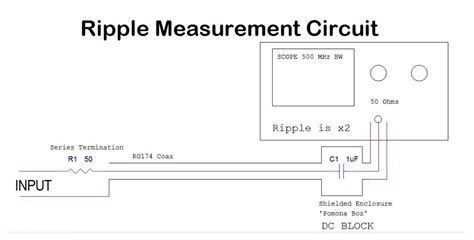 measure capacitor ripple eevblog 594 how to measure power supply ripple noise page 1