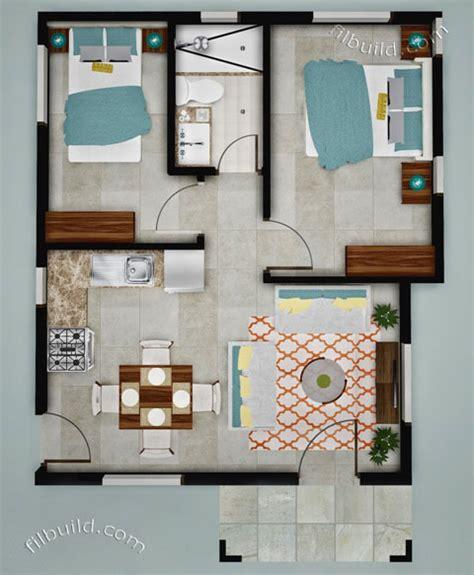 Floor Plan Of Two Bedroom House lapu lapu city cebu real estate home lot for sale at