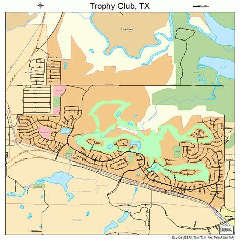 trophy club texas map trophy club texas map 4873710