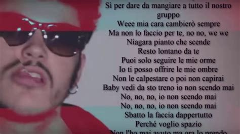 testo canzone re izi niagara freestyle con testo lyrics prod