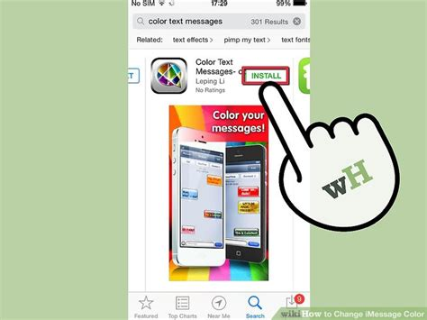 how to change message color on iphone 2 easy ways to change imessage color wikihow