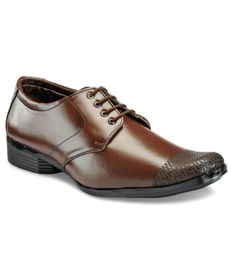 yepme comfortable brown formal shoes price in india buy