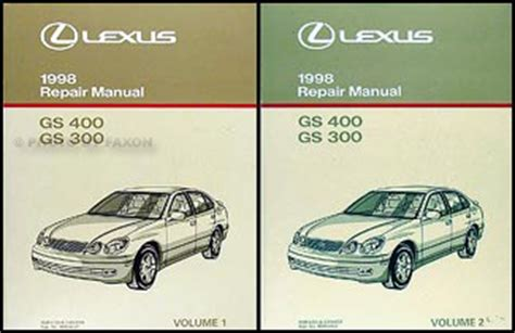 car repair manual download 1999 lexus ls electronic toll collection 1998 2005 lexus gs gs300 sc400 ls automatic transmission repair manual original