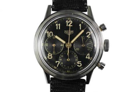 1955 heuer vintage chronograph for sale mens
