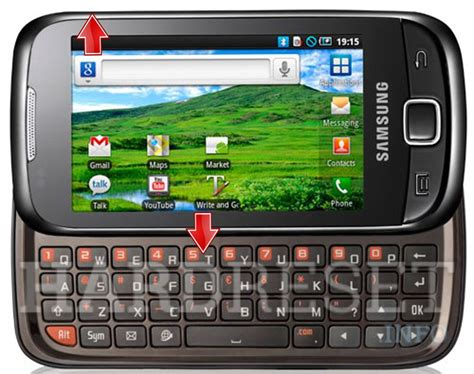 reset samsung qwerty samsung i5510 galaxy 551 recovery mode hardreset info