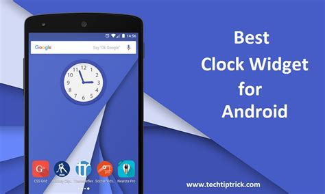 top android widgets best clock widgets for android 2017