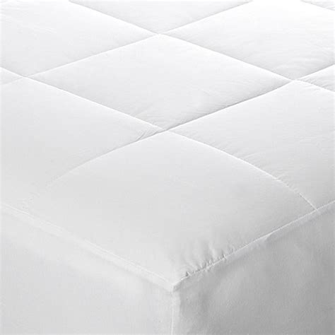 therapedic 174 memoryloft eurogel deluxe bed topper bed feather bed topper soft microfiber shell image of